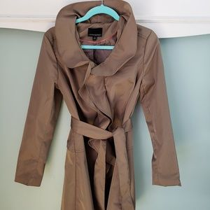 Cynthia Rowley Brown Trench Coat